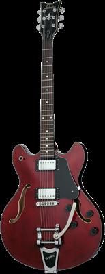 SCHECTER Corsair mit Bigsby E-Gitarre