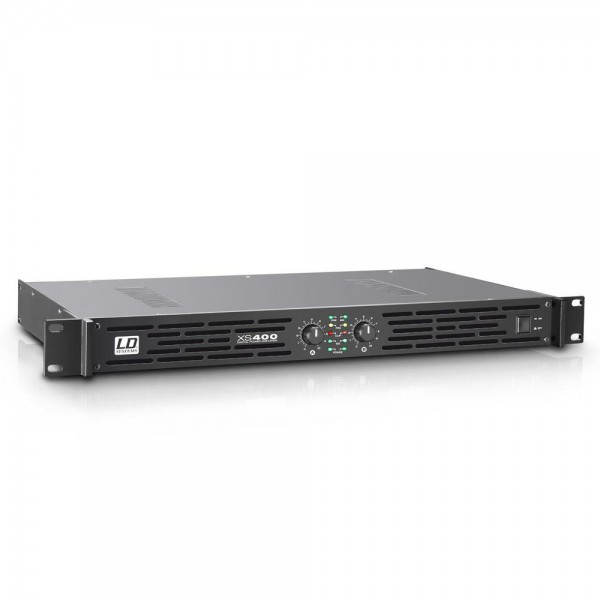 LD SYSTEMS XS 400 - PA Endstufe Class D 2 x 200 W 4 Ohm LDXS400