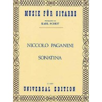 NOTEN Sonatine  Paganini Niccolo UE14455