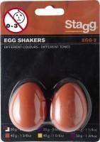 STAGG EGG-2 OR Egg Shaker Orange