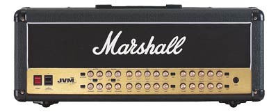 MARSHALL Vollröhren Topteil JVM410H 4-Kanal, 100 Watt, 12 Modes,