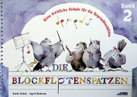 NOTEN Blockflötenspatzen 2 Schuh Karin SCHUH222