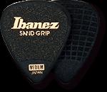 IBANEZ Plektren PPA14HSG-BK Flat Pick 6 Pack Sand Grip