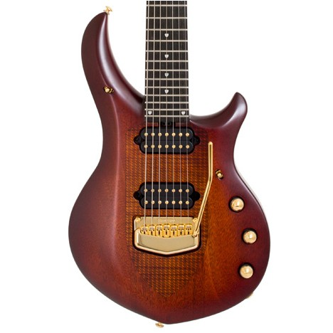 MUSIC MAN J. Petrucci Majesty E-Gitarre, Marrone,