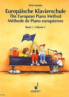 NOTEN Europäische Klavierschule 1 Klavier ED7931 Emonts