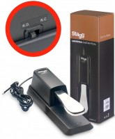 STAGG SUSPED 10 Sustain Pedal Keyboard