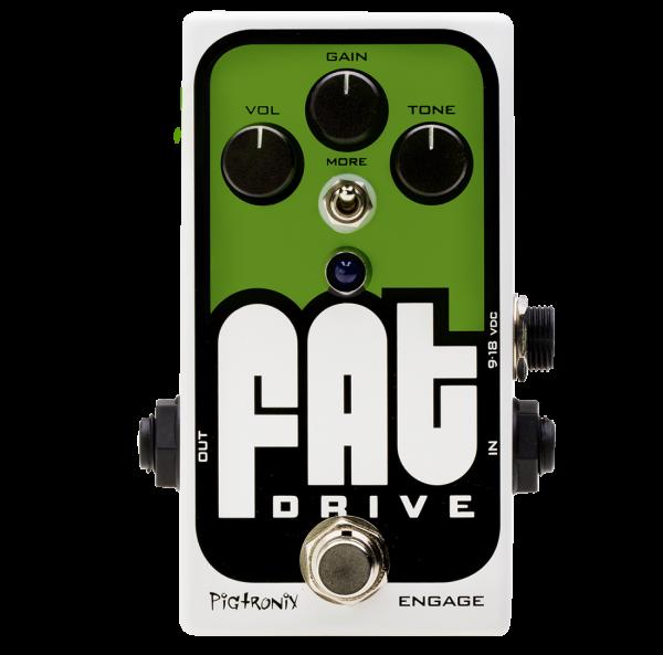 PIGTRONIX FAT Drive Overdrive Effektgerät Gitarre