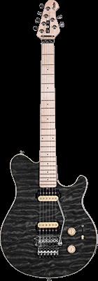 STERLING SUB AX4 E-Gitarre, Trans. Black