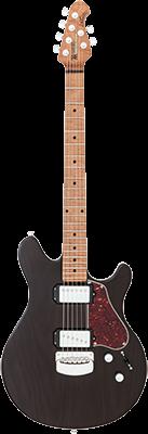 MUSIC MAN James Valentine E-Gitarre, Trans Black,