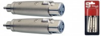 STAGG AC-XFCMH Fem XLR - Male RCA Adapter
