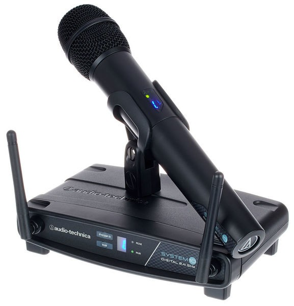AUDIO TECHNICA ATW1102 System 10 Handheld Transmitter System / Wireless Mikrofon