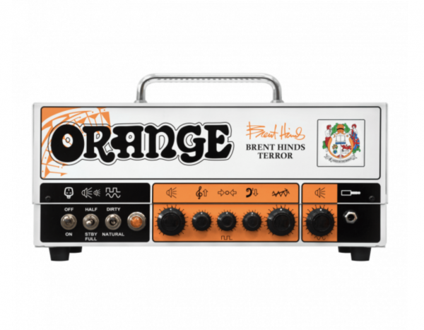 ORANGE Brent Hinds Terror Gitarrentopteil Head