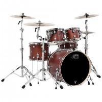 DW Performance Schlagzeug Shellset Tobacco Satin 10-12-14-20