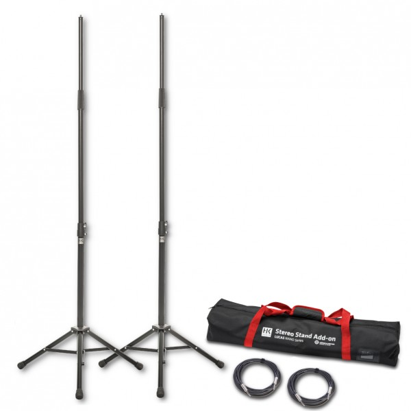 HK AUDIO Stereo Stand Add On Paket für Lucas Nano 300 Serie