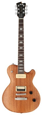 FGN Expert Flame-Plain Top P90 E-Gitarre