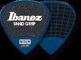 IBANEZ Plektren PPA16HSG-DB Flat Pick 6 Pack Sand Grip