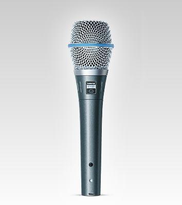 SHURE Beta 87C Kondensator Gesangsmikrofon (Niere)