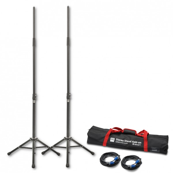HK AUDIO Stereo Stand Add On Paket für Lucas Nano 600 Serie