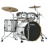 TAMA Superstar Hyperdrive SGW Sugar White Schlagzeug Set