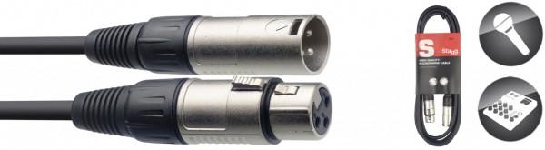 STAGG Mikrofonkabel XLR female XLR male SMC6