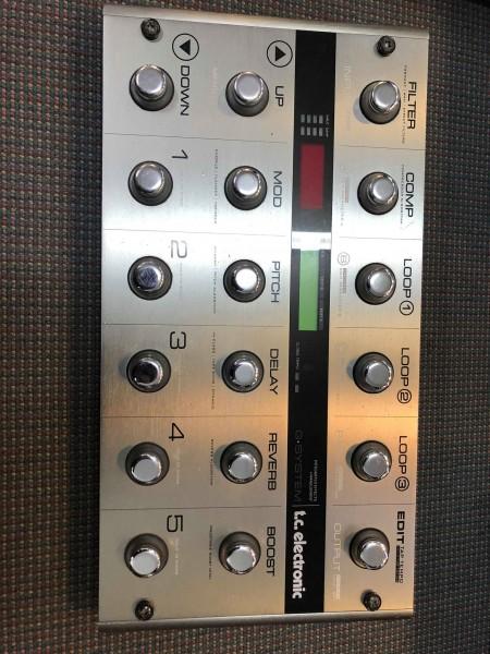 GEBRAUCHT TC Electronic G-System Multieffekt für E-Gitarre