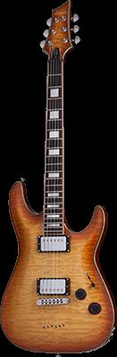 SCHECTER C-1 Custom E-Gitarre, Ebony Fretboard,