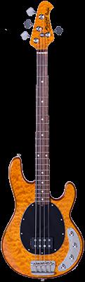STERLING StingRay4, aktiv E-Bass, Antique Maple