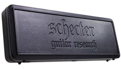 SCHECTER Case für Gitarre schwarz, für V Modelle
