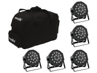 EUROLITE Set 5x LED SLS-180 + Softbag