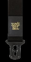 ERNIE BALL Polylock Gitarrengurt mit Lockingsystem Schwarz EB4056