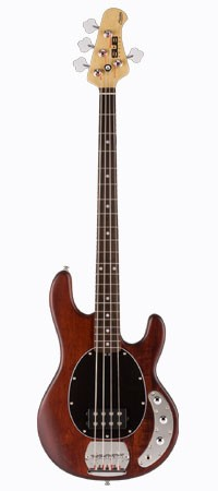 STERLING SUB Ray4 E-Bass, Walnut Satin