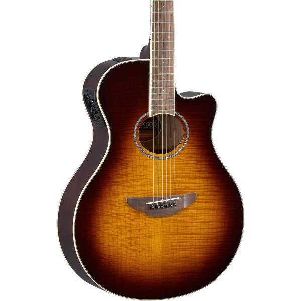 YAMAHA APX600 Westerngitarre mit Tonabnehmer