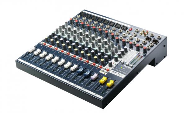 SOUNDCRAFT EFX8 12 Kanal Mischpult