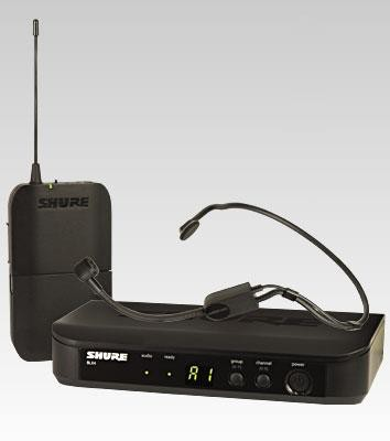 SHURE BLX14/PGA31 Drahtlossystem Headset PGA31