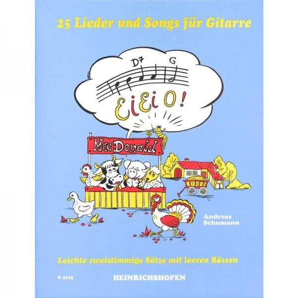 NOTEN Ei Ei O - 25 Lieder und Songs für Gitarre N 2275