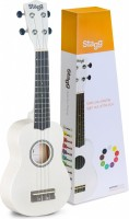 STAGG US-WHITE Ukulele Sopran