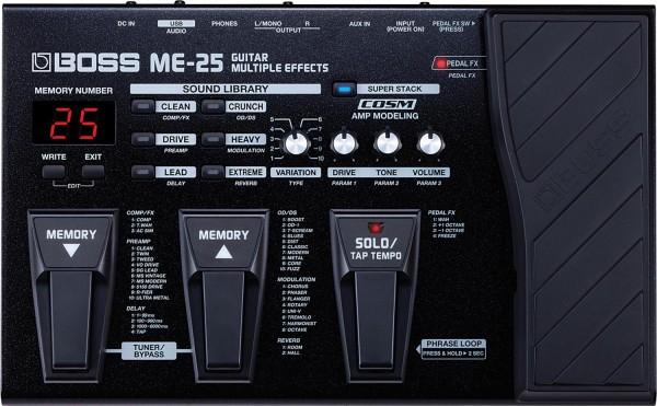 BOSS ME-25 Multieffektgerät Gitarre