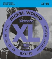D'ADDARIO EXL115 Blues/Jazz Rock E-Gitarre Strings 011-049