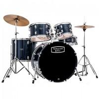 MAPEX Tornado Schlagzeugset inkl. Zildjian Planet Z Beckensatz Royal Blue TND5044TCYB