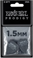 ERNIE BALL Plektren Prodigy Standard 1,50 mm schwarz 6 Stück EB9199