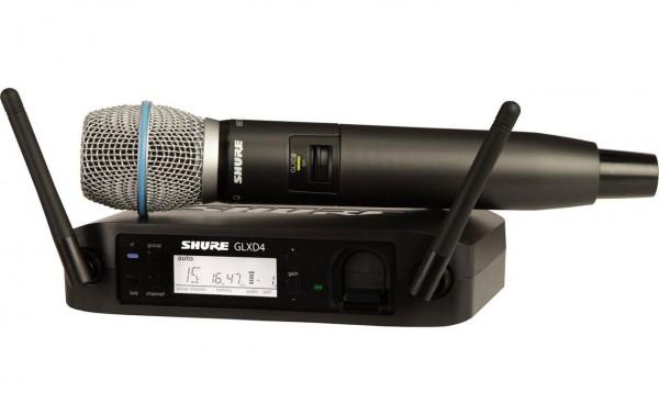 SHURE GLXD 24/B87 Drahtlossystem Beta 87A Funkmikrofon digital