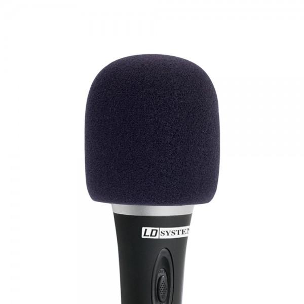 LD SYSTEMS D913BLK Windschutz für Mikrofone schwarz